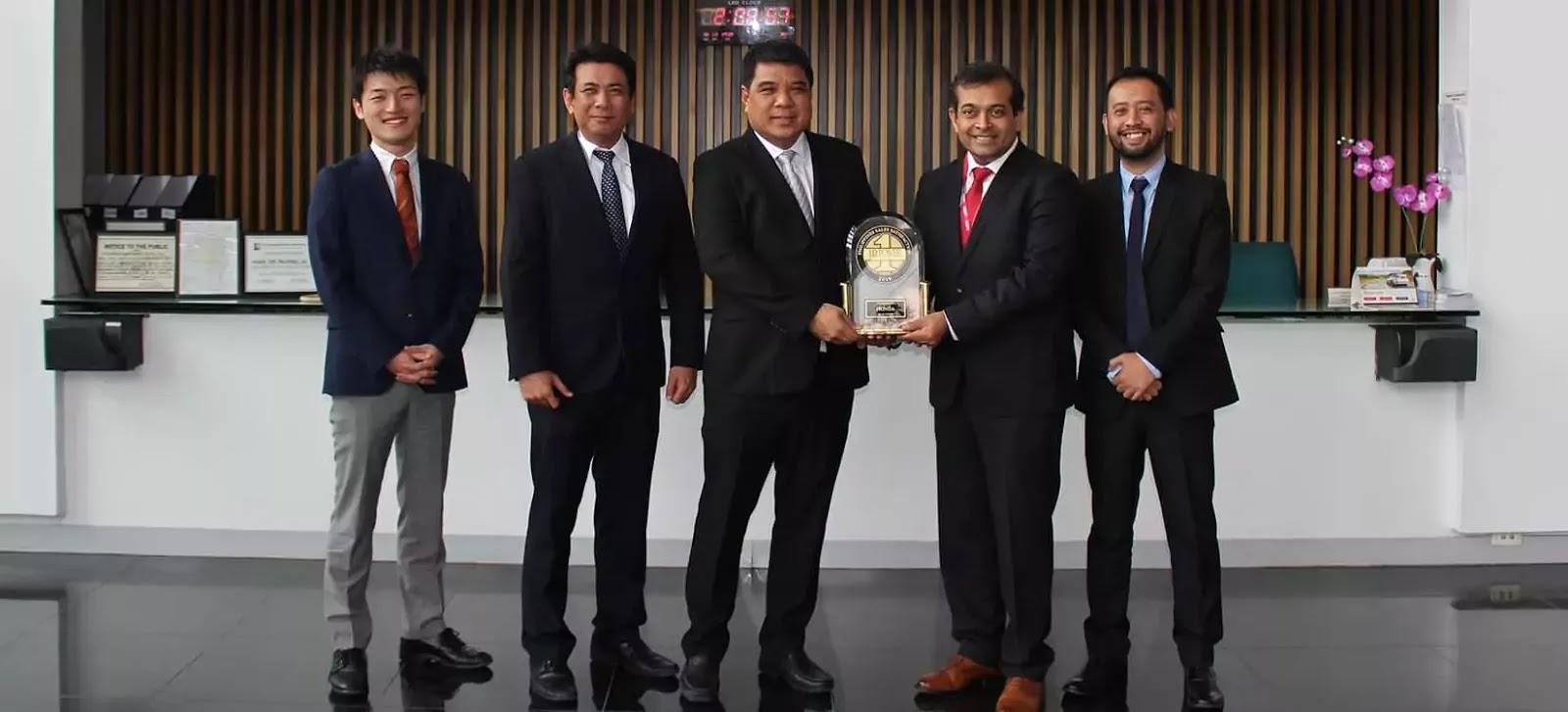 Honda Cars Philippines - J.D. Power 2019