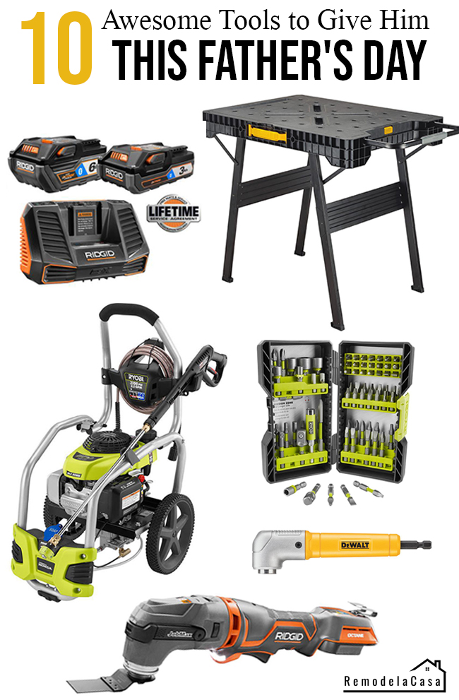 Tools for him this father's day