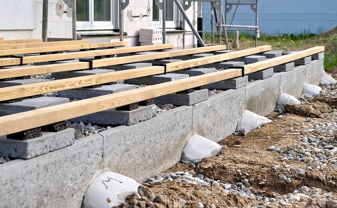 Luxus Bankirai Terrasse Unterkonstruktion   Haus Design-Ideen