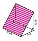 no 6 Soal dan Jawaban Ayo kita Berlatih 8.2 Menentukan Luas Permukaan Prisma Kelas 8