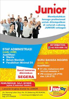 JUNIOR English for Elementary School Students