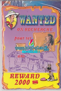 Lucky Luke, Wanted, Sarah Berhardt, 2001
