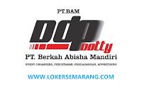 Loker Semarang di PT Berkah Abisha Mandiri sebagai Sales Executive