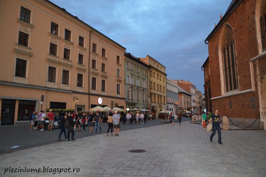 Piata centrala din Cracovia