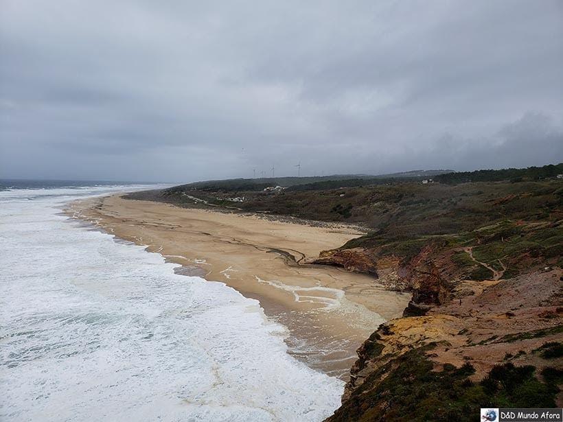 Praia do Norte - O que fazer em Nazaré Portugal
