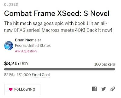 Combat Frame XSeed: S 821