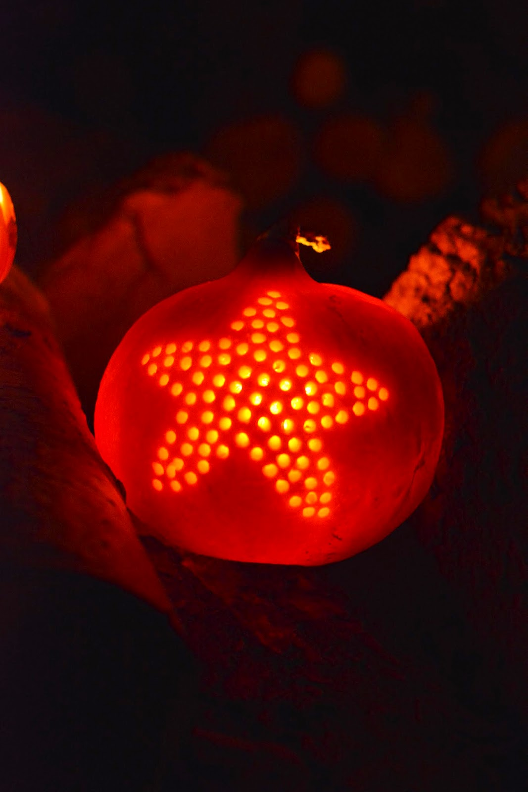 Pumpkin star - DIY.