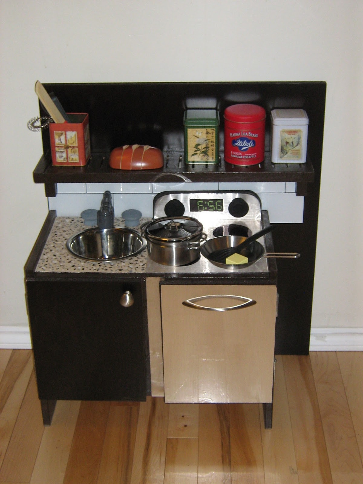 Dollar Store Play Food Made Kitchen Ready
