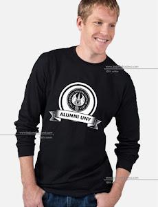 baju mahasiswa long sleeve tshirt alumni uny