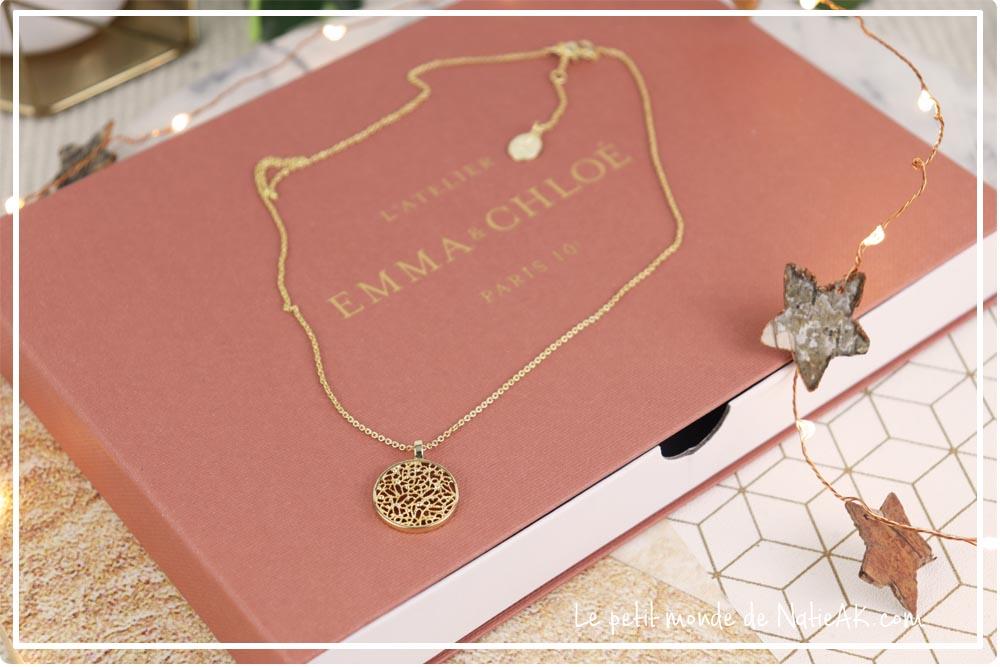collier filigrane plaqué or