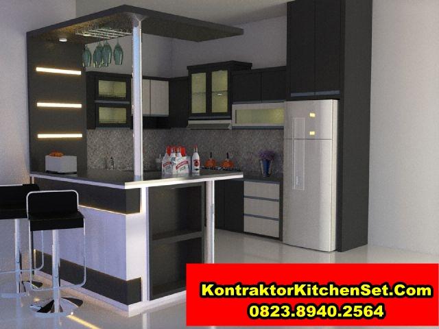 Jasa bikin buat kitchen set malang modern minimalis for Bikin kitchen set murah