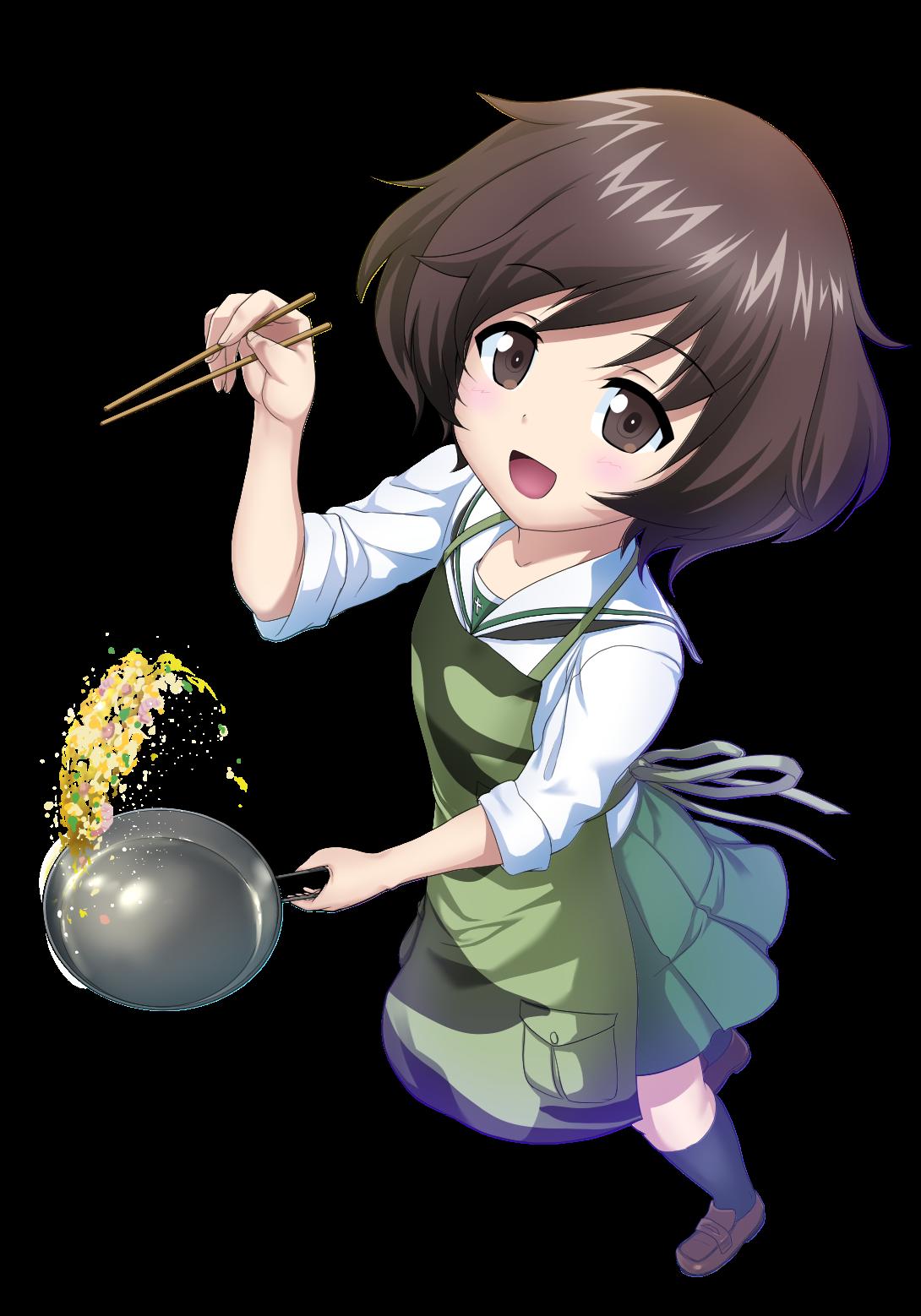 Akiyama Yukari Yukari Akiyama (GIRLS und PANZER)