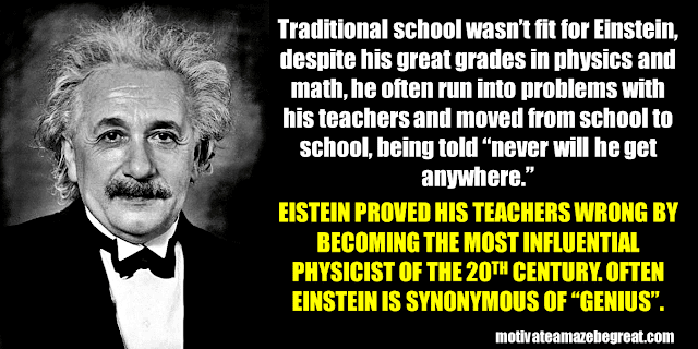 Success Stories From Famous People Who Failed Before Succeeding: Albert Einstein