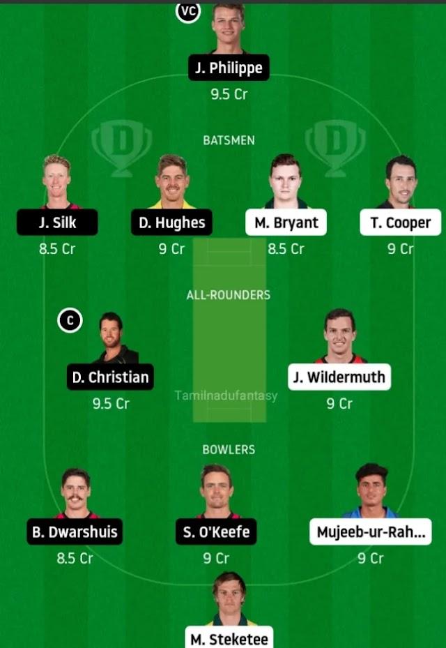 Hea vs six dream 11 cricket Prediction in tamil