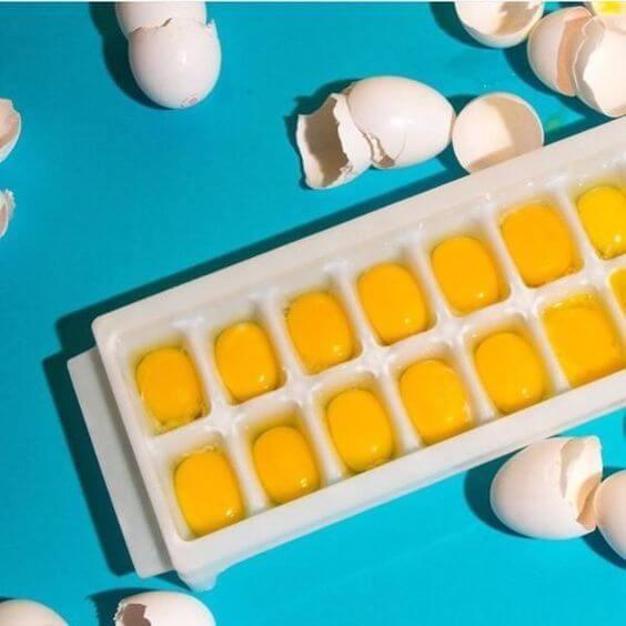 como congelar ovos