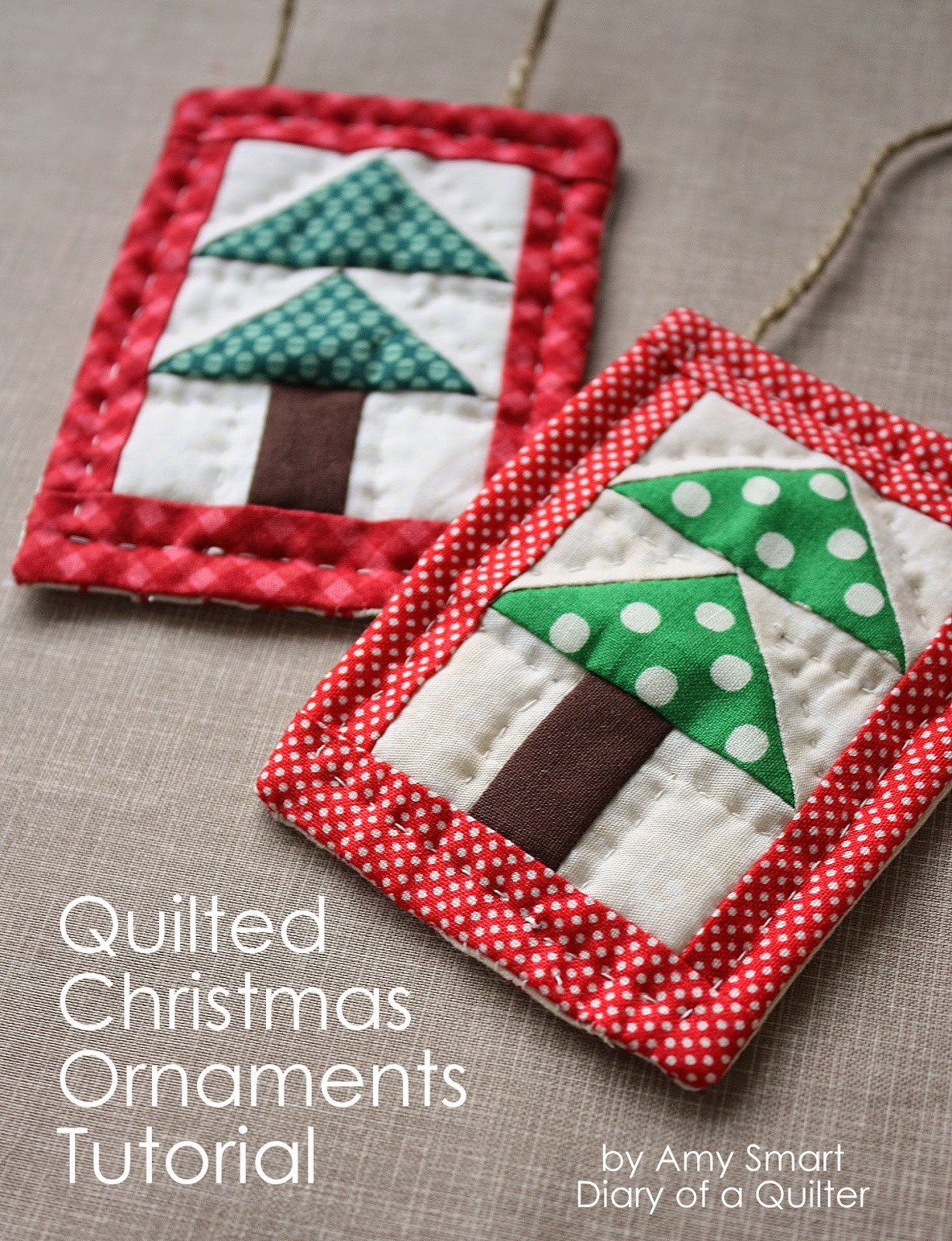 Quilted Christmas Ornaments.Quilted Christmas Ornament Tutorial U Create