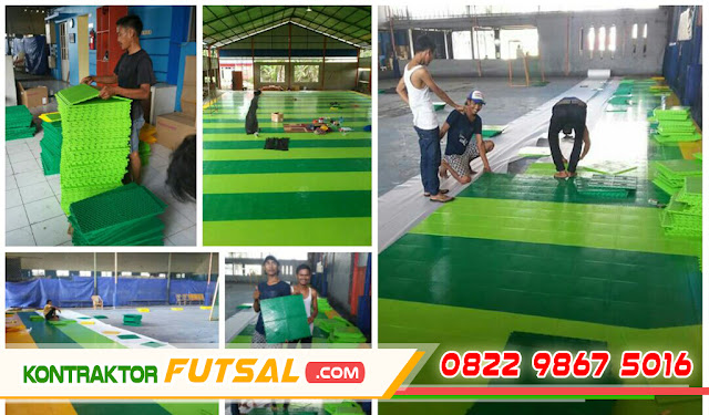 Lantai Interlock Futsal Terbaru Murah dan Bahan