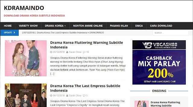 kdramaindo situs download drama korea subtitle indonesia