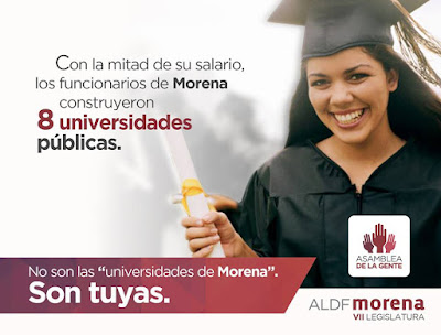 Cumplen Requisitos ante SEP Universidades Morena