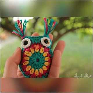 patron amigurumi Búho facil crochet y amigurumis