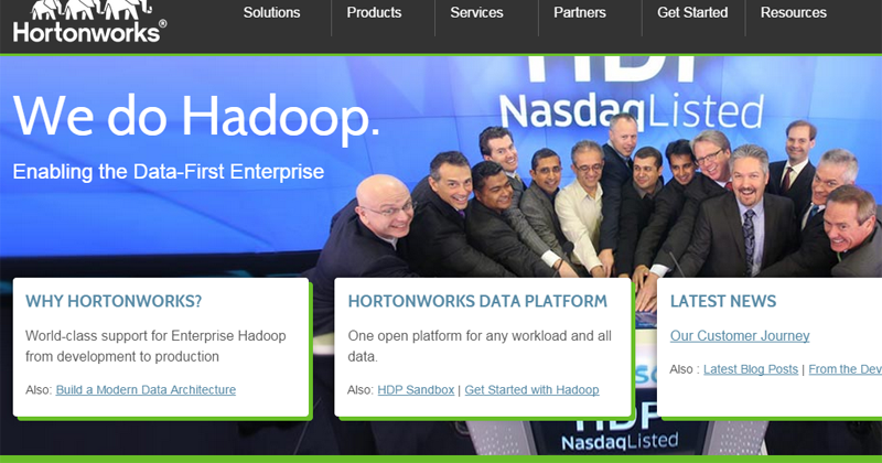 Flash: Hortonworks to Acquire SequenceIQ for Launching