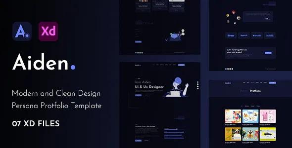 Best Creative Portfolio XD Template