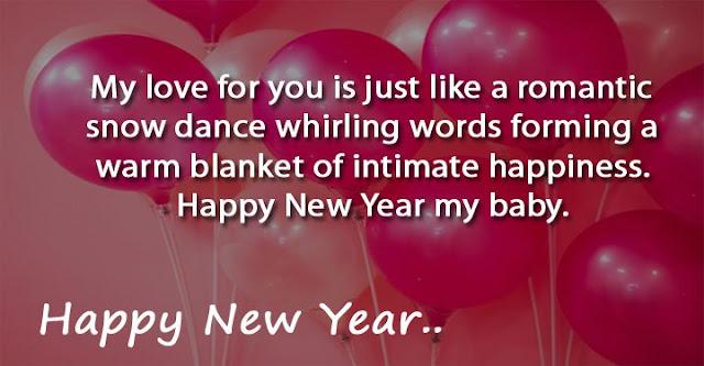 Happy New Year Romantic Love Quotes