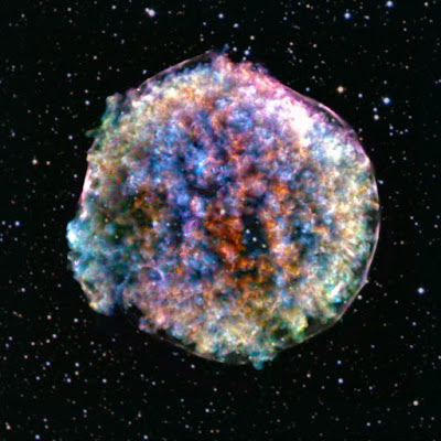 clumpy and lumpy Tycho supernova remnant