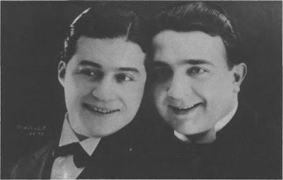 Agustin Magaldi y Pedro Noda en 1929