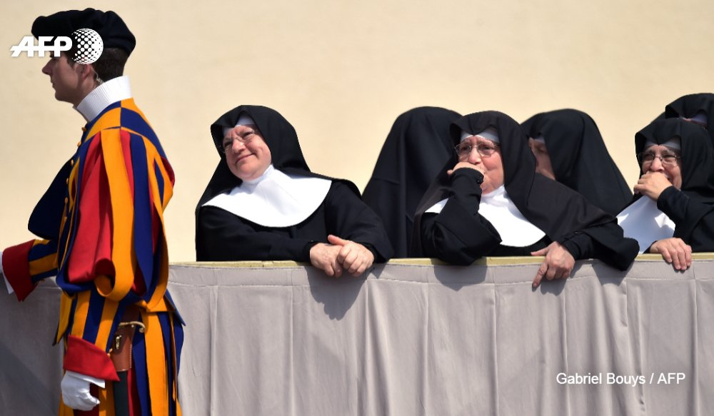 Nuns on the run (with Swiss guards): Vatican Athletics gets Olympic blessing