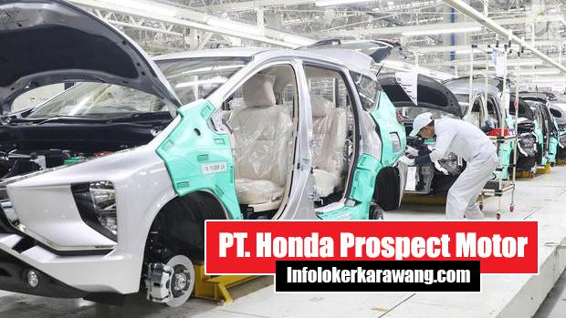 PT Honda Prospect Motor Disnaker Karawang