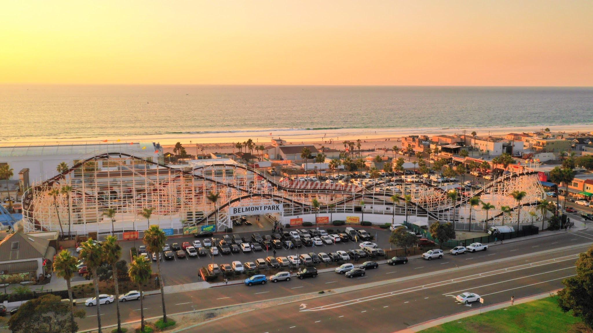 Belmont Park in San Diego - Feel the Joyful