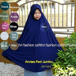 jilbab syar'i jumbo bahan jersey
