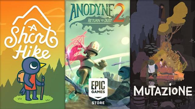 A Short Hike, Anodyne 2: Return to Dust, dan Mutazione