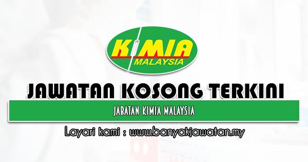 Jawatan Kosong Kerajaan 2021 di Jabatan Kimia Malaysia