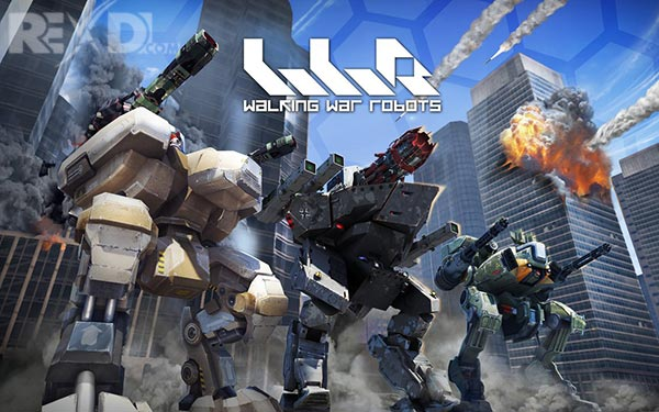 War Robots Mega Mod Apk Unilimited Gold +Ammo+ No reload