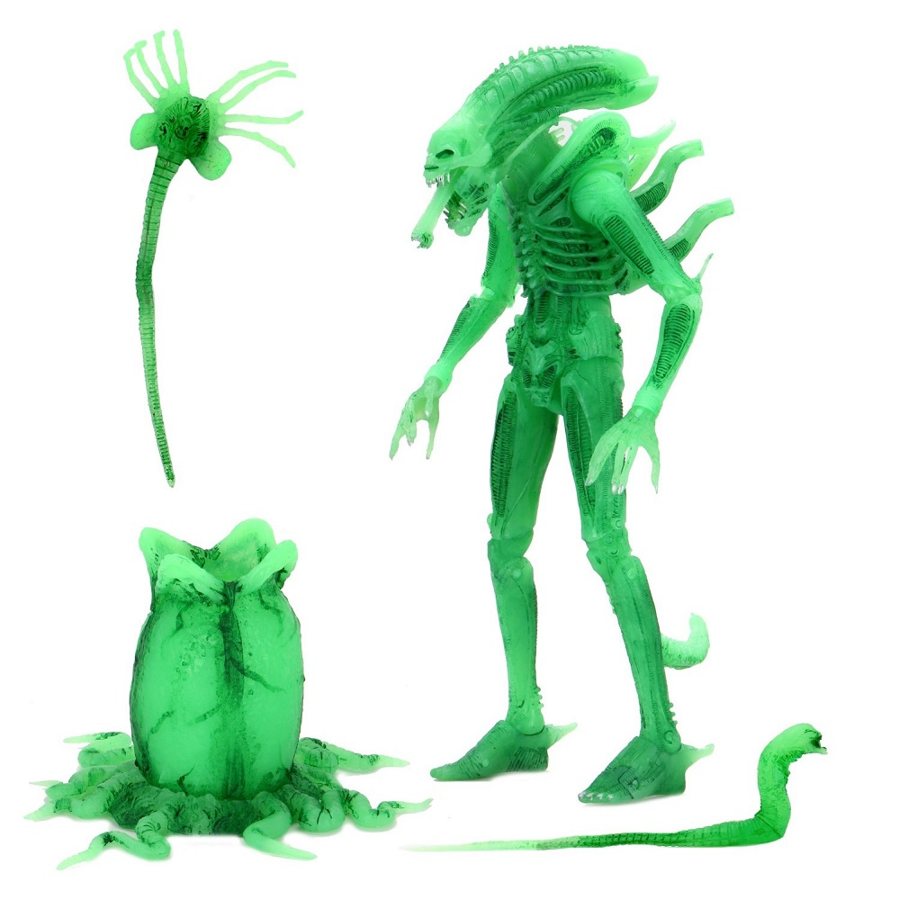 Aliens Minimates SDCC Exclusive Retro 1979 Glow in the Dark Alien Xenomorph