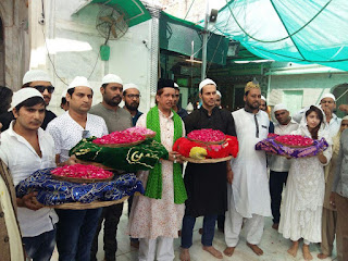 SAANSEIN team seek Ajmer Dargah's blessings
