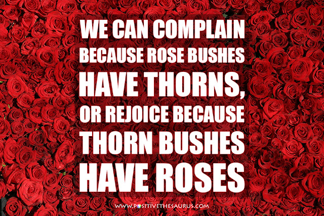 positive words Abraham Lincoln roses quote