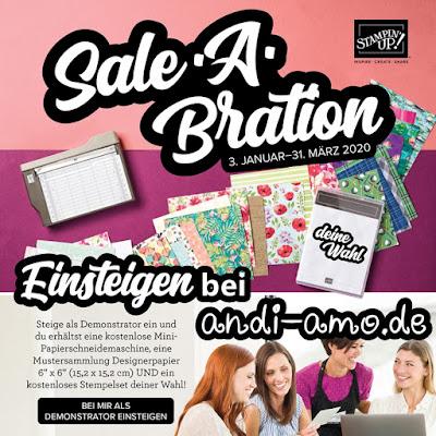 Stampin Up Sale-A-Bration Einsteigen Demo 2020