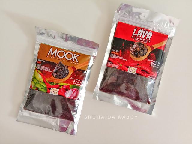 Jom Cuba Lava Crunchy dan Sambal Mook Dari Kayu Tiga