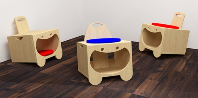 desain model kursi unik lucu untuk anak