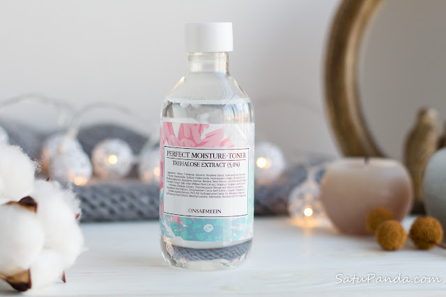 ONSAEMEEIN Perfect Moisture Toner review