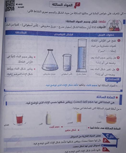 حالات المادة وتحولاتها | الصف الرابع الابتدائي | مادة العلوم | اجيال الاندلس