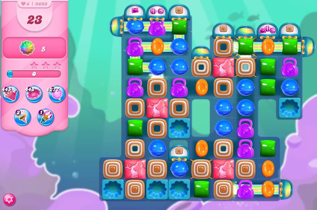 Candy Crush Saga level 9893