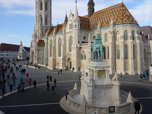 église Saint-Mathias Budapest Hongrie