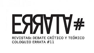 COLOQUIO ERRATA #11 Revistas