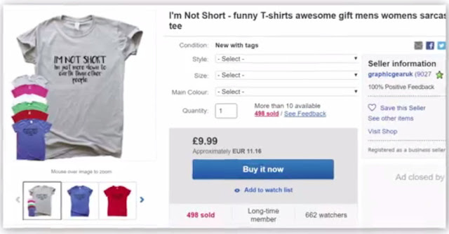 Selling Funny T-shirts On