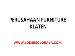 Lowongan Tukang Anyam Rotan Perusahaan Furniture di Klaten