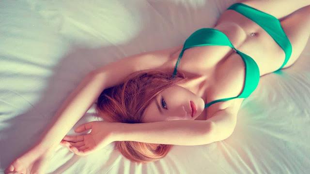Ảnh gái xinh khoe hàng khiến nam giới phải chảy nước miếng